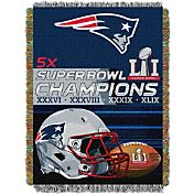 Northwest Super Bowl LI Champions New England Patriots Tapestry Blanket