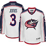 Reebok Men's Columbus Blue Jackets Seth Jones #3 Premier Replica Away Jersey