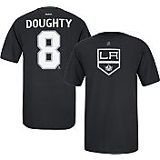 Reebok Men's Los Angeles Kings Drew Doughty #8 Player Black T-Shirt