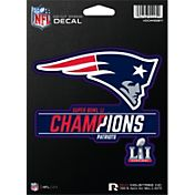 Rico Super Bowl LI Champions New England Patriots Die-Cut Window Decal