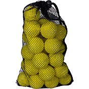Maxfli Yellow Dimple Balls & Mesh Bag – 30-Pack